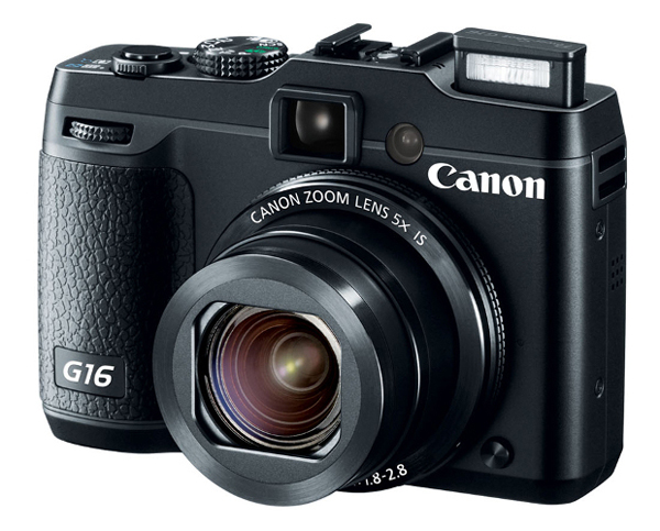 The new Canon G16