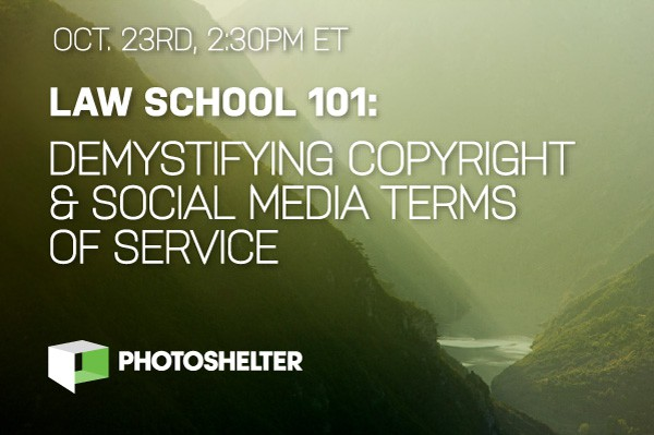 New Webinar: Law School 101 – Demystifying Copyright & Social Media Terms of Service