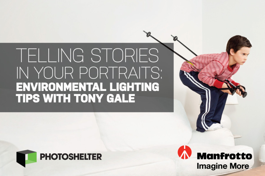 Video: Telling Stories In Your Portraits – Environmental Lighting Tips with Tony Gale