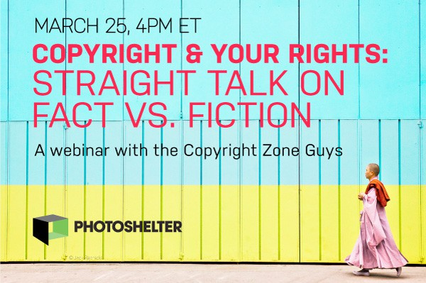 Webinar: Copyright & Your Rights – Straight Talk on the Facts vs. the Fiction