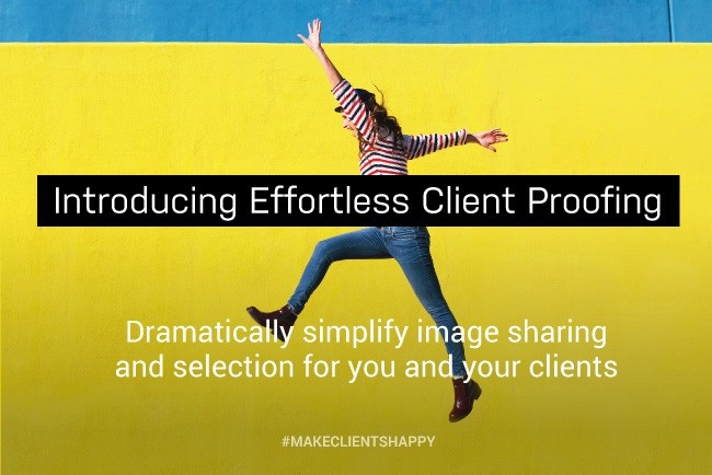 Introducing Effortless Client Proofing from PhotoShelter