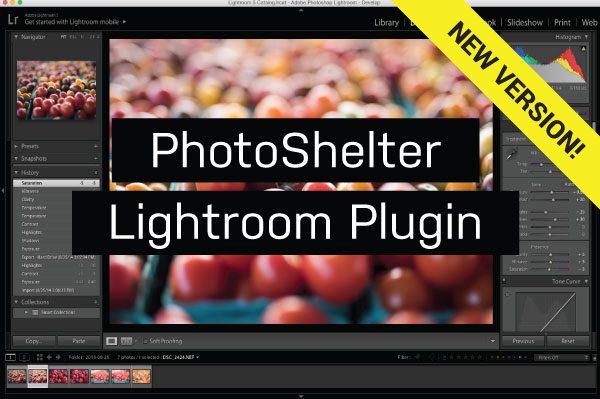 Product Update: PhotoShelter Publish Service for Adobe Lightroom