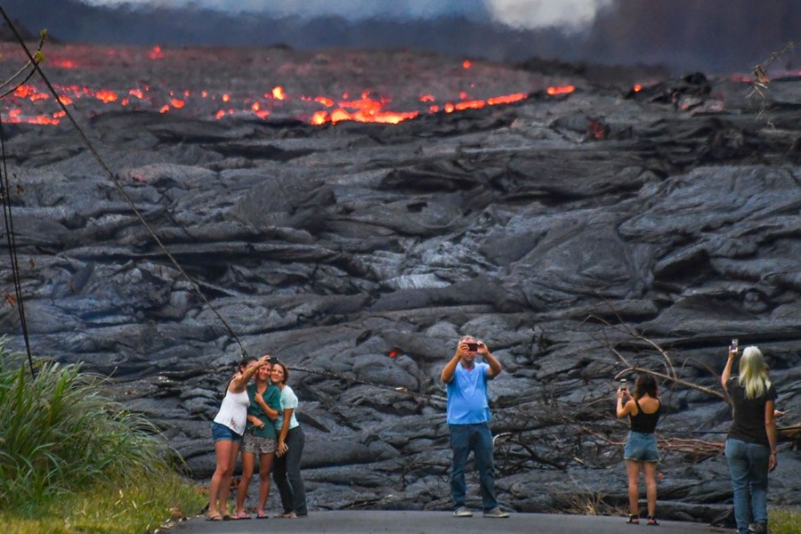 The Perils and Awe of Photographing an Erupting Volcano for the First Time
