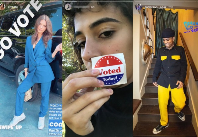 The Voting Selfie as Social Proof