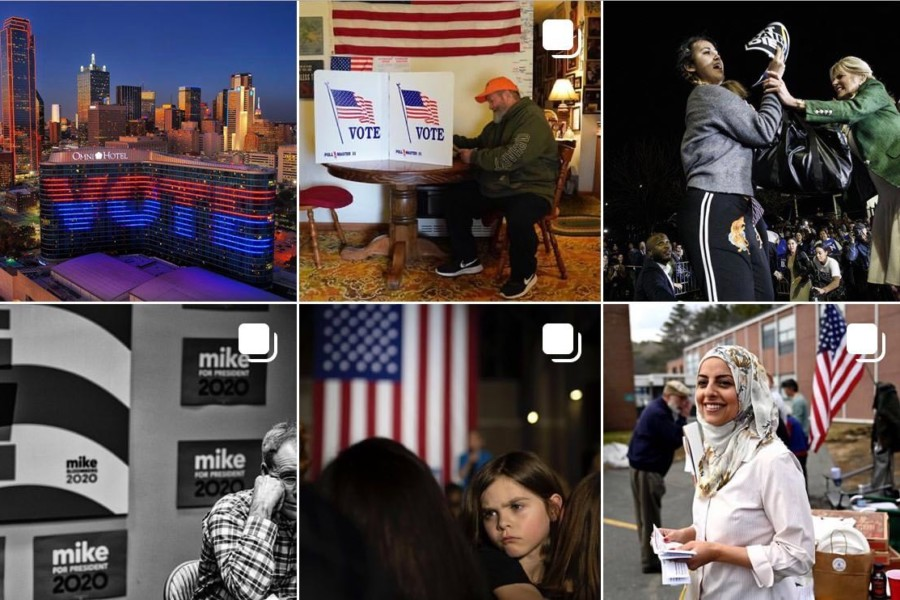Friday Inspiration: Scenes From Super Tuesday