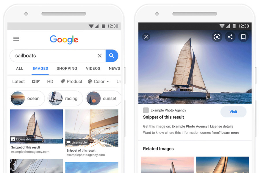 Google's New Licensable Images Features Are Officially Out!