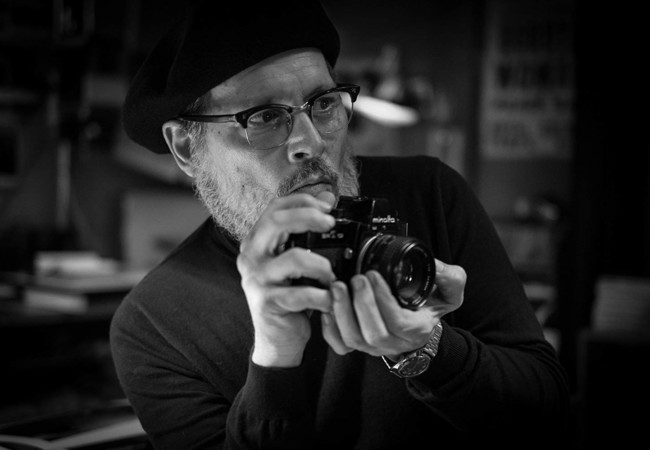"Johnny Depp Plays Photographer W. Eugene Smith in ""Minamata"""
